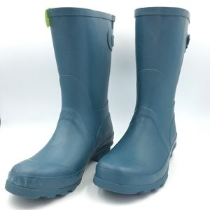 e1841838085 A New Day Women s Samantha Rain Boots Turquoise